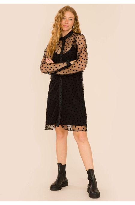 vestido-manga-longa-tule-veronica-preto